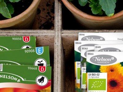 Økologiske frø fra Nelson